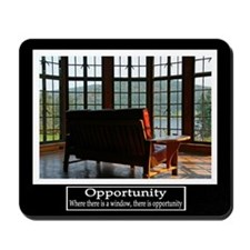 Opportunity Motivational Mousepad