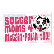 Soccer Moms 4 Palin Postcards (Package of 8)