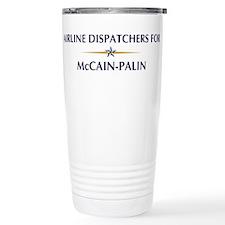 AIRLINE DISPATCHERS for McCai Travel Mug