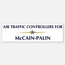 AIR TRAFFIC CONTROLLERS for M Bumper Bumper Bumper Sticker