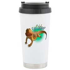Bearded Dragon Got Crickets 5 Travel Mug