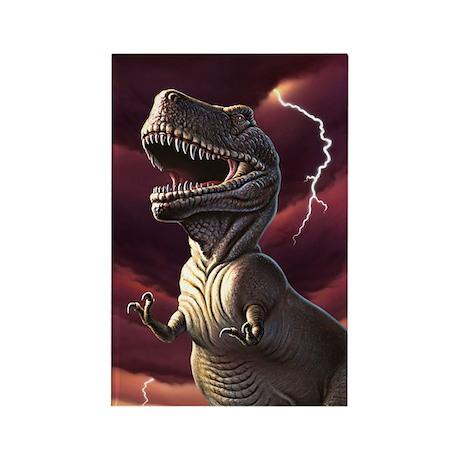 Lightning Rex 3 Rectangle Magnet (10 pack)
