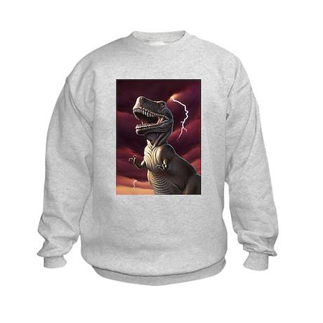 Lightning Rex 3 Kids Sweatshirt