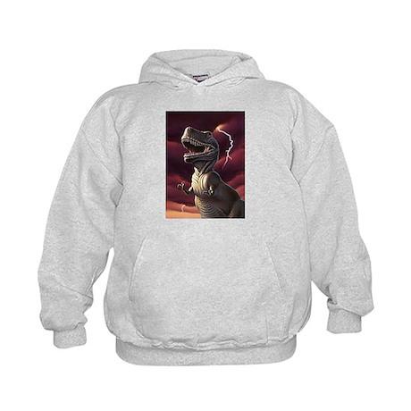 Lightning Rex 3 Kids Hoodie