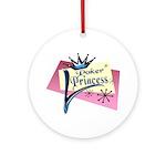 Poker Princess Keepsake (Round)