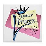 Poker Princess Tile Coaster
