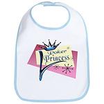 Poker Princess Bib