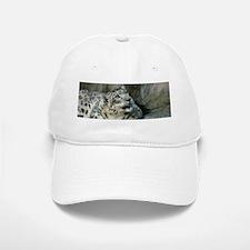 Snow Leopard B006 Baseball Baseball Cap