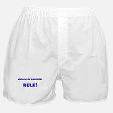 Metalwork Designers Rule! Boxer Shorts