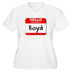 Hello my name is Boyd T-Shirt