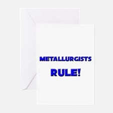 Metallurgists Rule! Greeting Cards (Pk of 10)