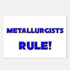 Metallurgists Rule! Postcards (Package of 8)