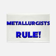 Metallurgists Rule! Rectangle Magnet