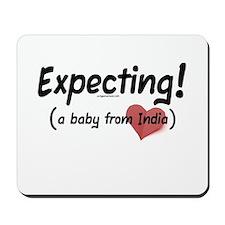 Expecting! India adoption Mousepad
