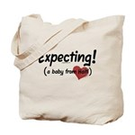 Expecting! Haiti adoption Tote Bag