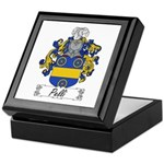 Pelli Family Crest Keepsake Box