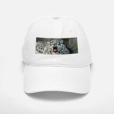 Snow Leopard B007 Baseball Baseball Cap