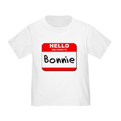 Hello my name is Bonnie T