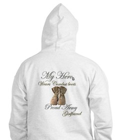 Combat boots Proud girlfriend Jumper Hoody