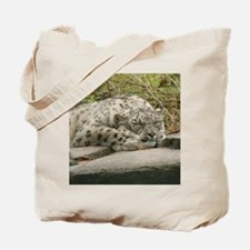 Snow Leopard M001 Tote Bag