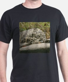 Snow Leopard M001 T-Shirt