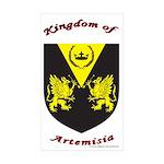 Artemisia Rectangle Sticker 50 pk)