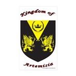 Artemisia Rectangle Sticker 10 pk)