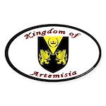 Artemisia Oval Sticker (50 pk)