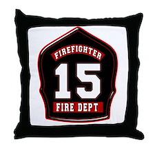 FD15 Throw Pillow