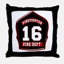 FD16 Throw Pillow