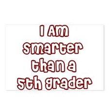 I AM smarter than a 5th grader Postcards (Package