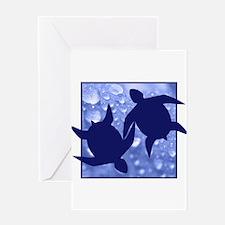 Turtle Duo Greeting Card