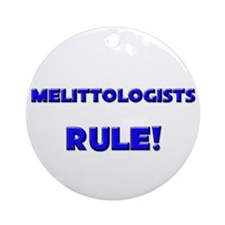 Melittologists Rule! Ornament (Round)