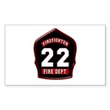 FD22 Rectangle Decal
