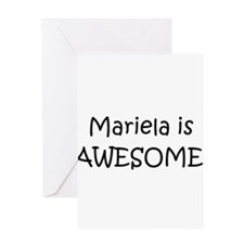 Mariela Greeting Card