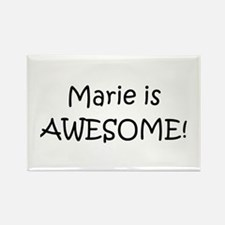 Cute Marie Rectangle Magnet