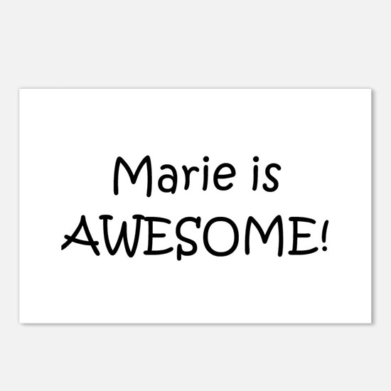 Unique Marie Postcards (Package of 8)
