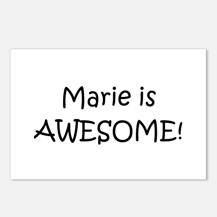 Cute Marie Postcards (Package of 8)