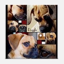 Puggle Parts Tile Coaster