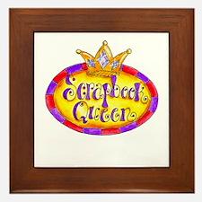Scrapbook Queen Crown Framed Tile