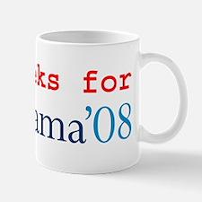 Computer Geeks for Obama Mug