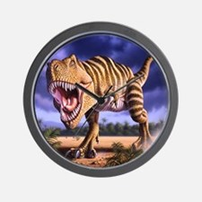 Brown Rex 1 Wall Clock