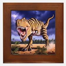 Brown Rex 1 Framed Tile