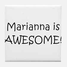 Cool Marianna Tile Coaster