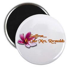 """Serenity """"Saffron Our Mrs Reynolds"""" Magnet"""