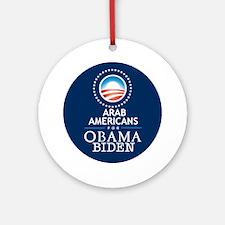 Obama Biden ARABS Ornament (Round)