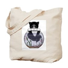 Kitty - Hang In There! Tote Bag