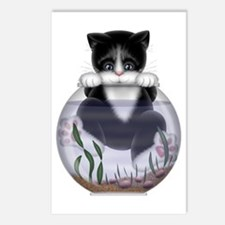 Kitty - Hang In There! Postcards (Package of 8)