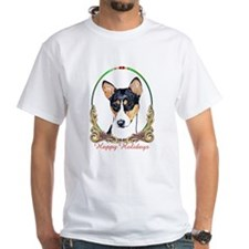 Shirt / Holiday Basenji