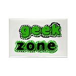 Geek Zone Rectangle Magnet